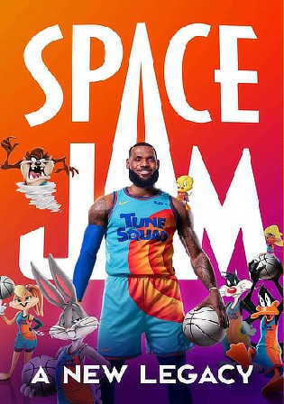 Space Jam A New Legacy 2021 WEB-DL 850Mb Hindi Dual Audio ORG 720p Watch Online Full Movie Download bolly4u