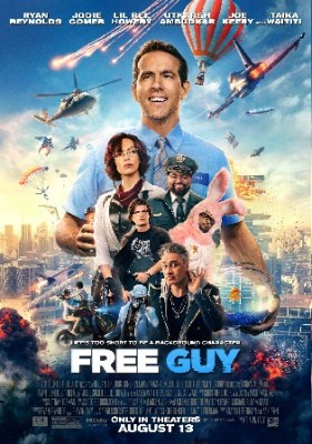 Free Guy 2021 WEB-DL 400Mb Hindi CAM Cleaned Dual Audio 480p Watch Online Full Movie Download bolly4u