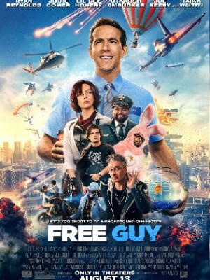 Free Guy 2021 WEB-DL 800Mb Hindi CAM Cleaned Dual Audio 720p
