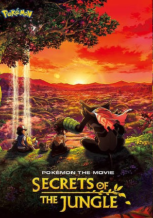 Pokemon the Movie Secrets of the Jungle 2021 WEB-DL 300Mb Hindi Dual Audio 480p Watch Online Full Movie Download bolly4u
