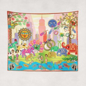 Bollyworld Multicolored Tapestry