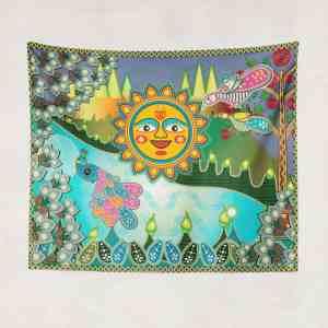 Sun Mural Tapestry