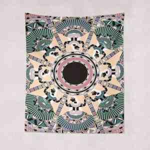 Fan Dress Tapestry