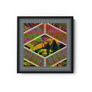Angel Song Square Canvas Wall Art