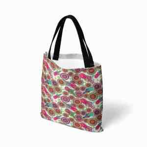 Birds Of Eternal Love Canvas Tote Bag