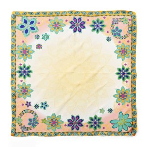 Dream Flowers Square Scarf