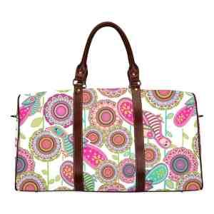 Birds of Cosmic Love Travel Bag