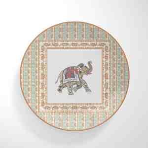 Elephant Dinnerware Plate