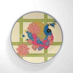 Jail Peacock Dinnerware Plate