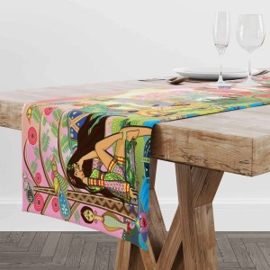 Wide Print Intro Bolly and Sheena Table Runner