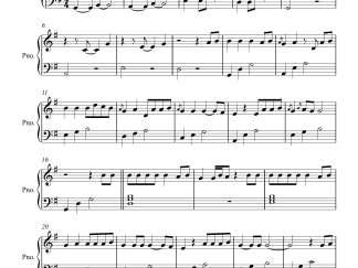 Sanu Ek Pal piano notes