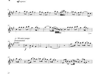 Humko Humise Chura Lo - Mohabbatein Violin Sheet