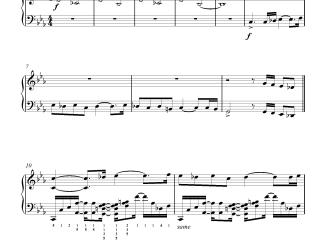 Ratsasan Psycho Theme Advanced Piano Notes