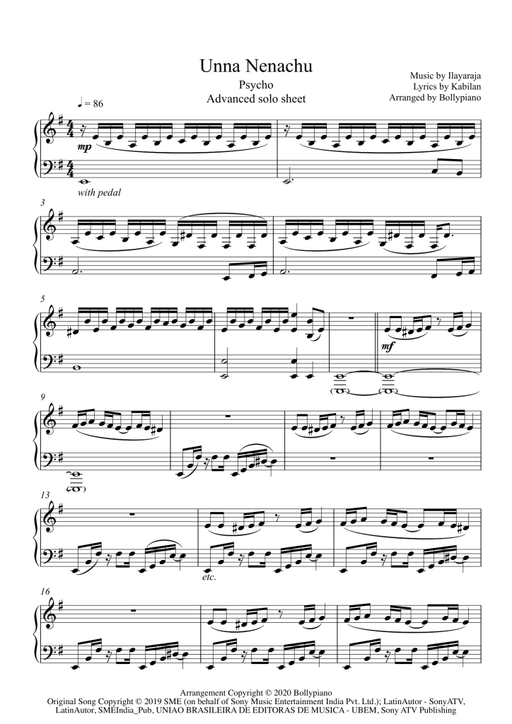 Unna Nenachu Advanced Piano Notes Solo Sheet Music Pdf Itypemusic is a brilliant new software program that gives anybody who can type, the ability to play music by simply following letters. unna nenachu advanced solo sheet