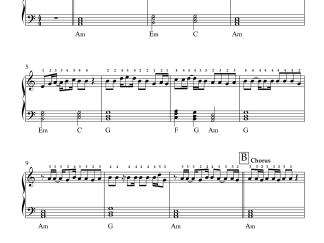 Pyaar Kiya Toh Nibhana - Major Saab easy piano notes