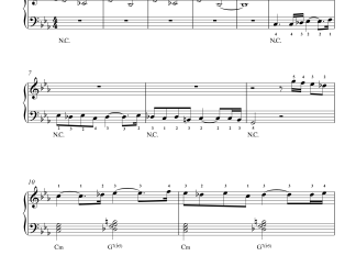 Ratsasan Piano Theme easy piano notes