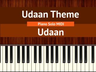 Udaan Theme - Udaan Piano Solo MIDI