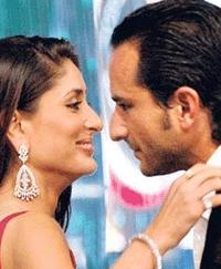 Saif no se puede confiar en Kareena para su proxima película Agent Vinod!!!
