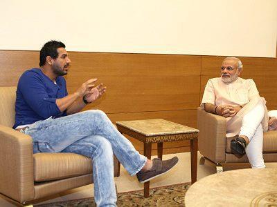Akshay with Modi