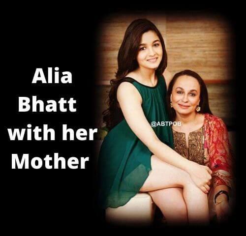 Alia Bhatt Mother