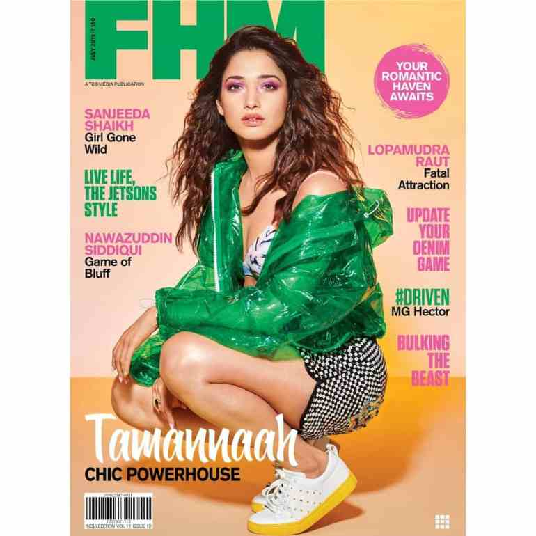 Tamannaah Bhatia In Magazine Cover