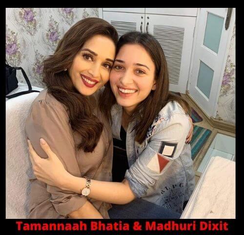 Tamannaah Bhatia & Madhuri Dixit