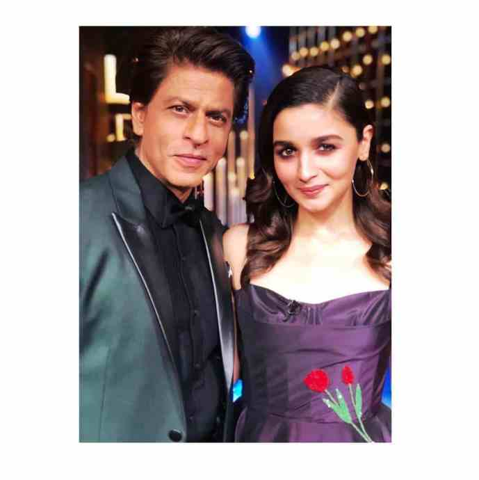 Alia Bhatt with Shah Rukh Khan
