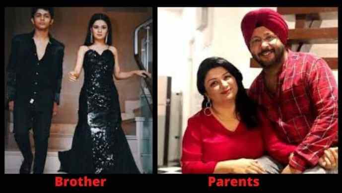 Avneet Kaur Family
