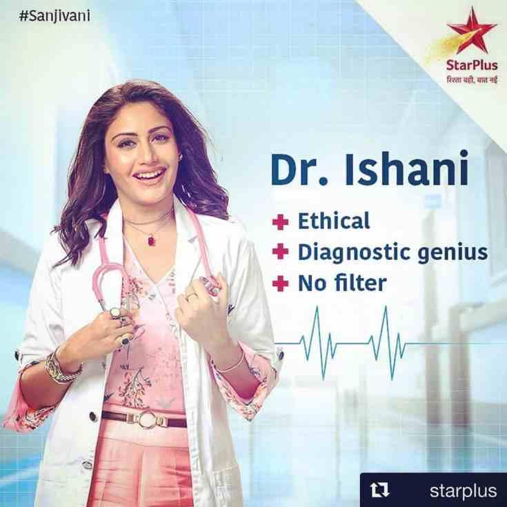 Surbhi Chandna in Dr Ishani role