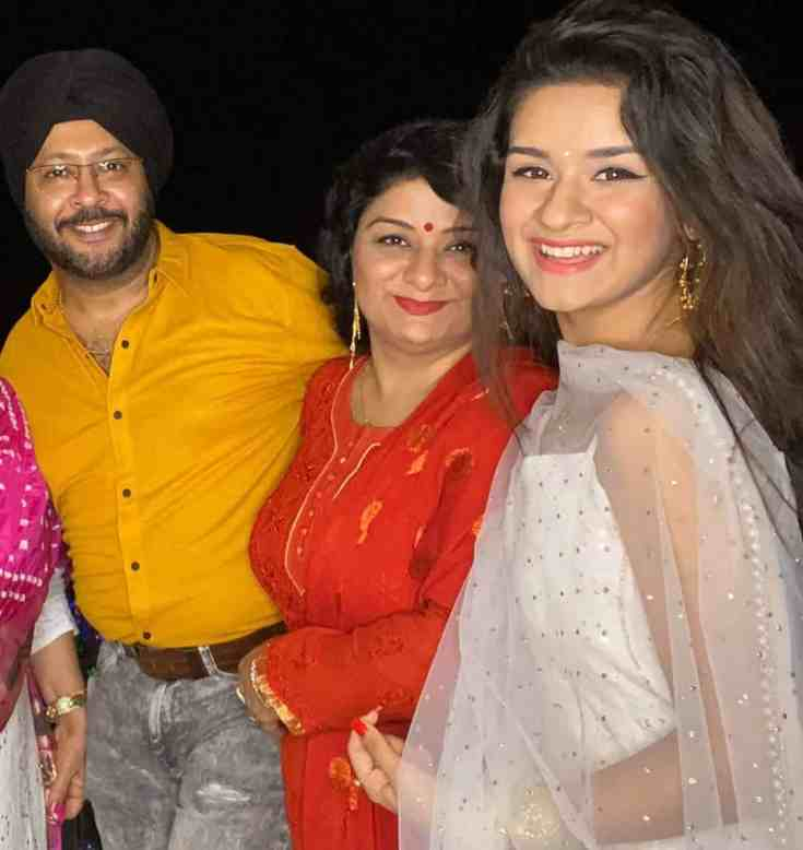 Avneet Kaur Parents