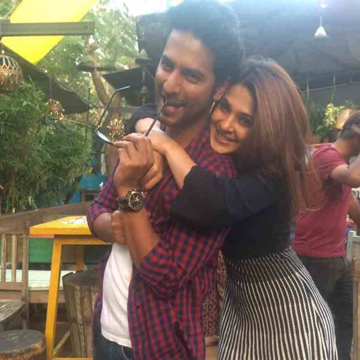 Jennifer Winget with Sehban Azim