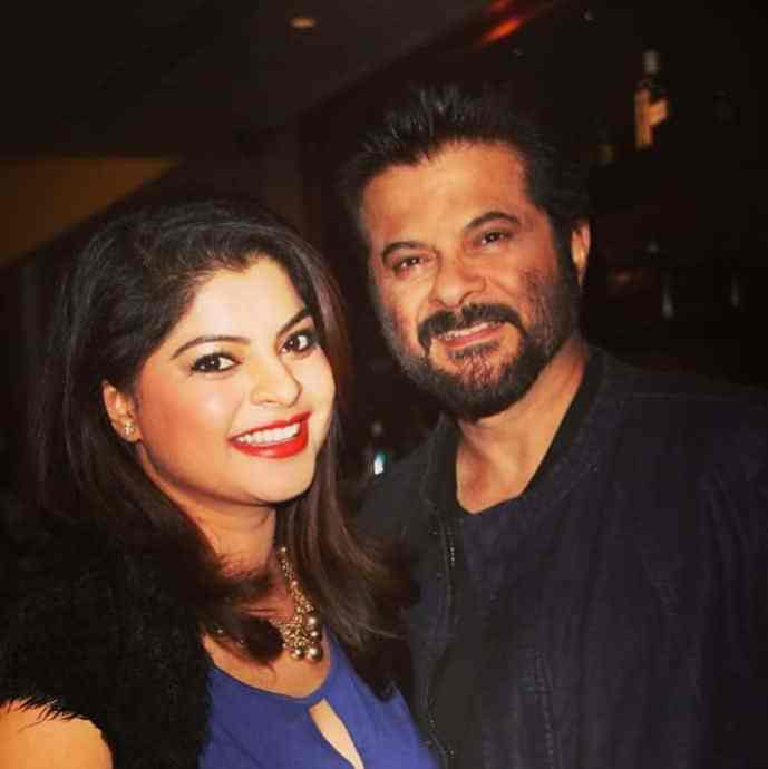 Sneha Wagh with Anil Kapoor