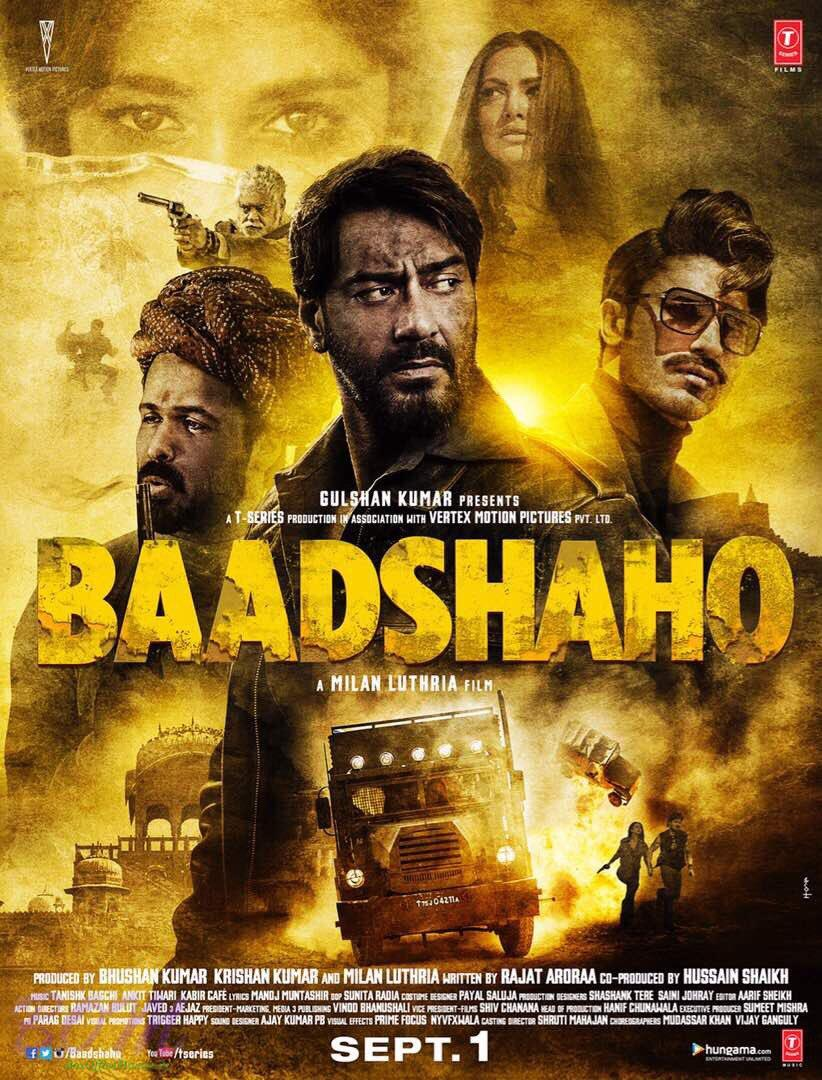 Baadshaho teaser is different yet phenomenal