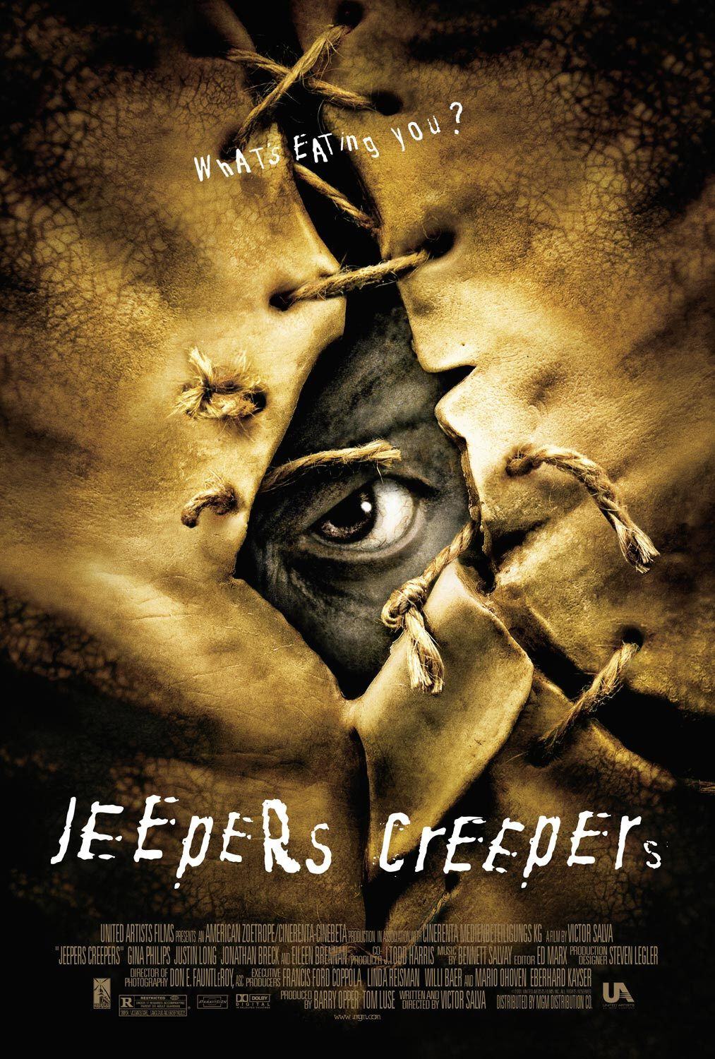 Jeepers Creepers  poster is copied by Creatures