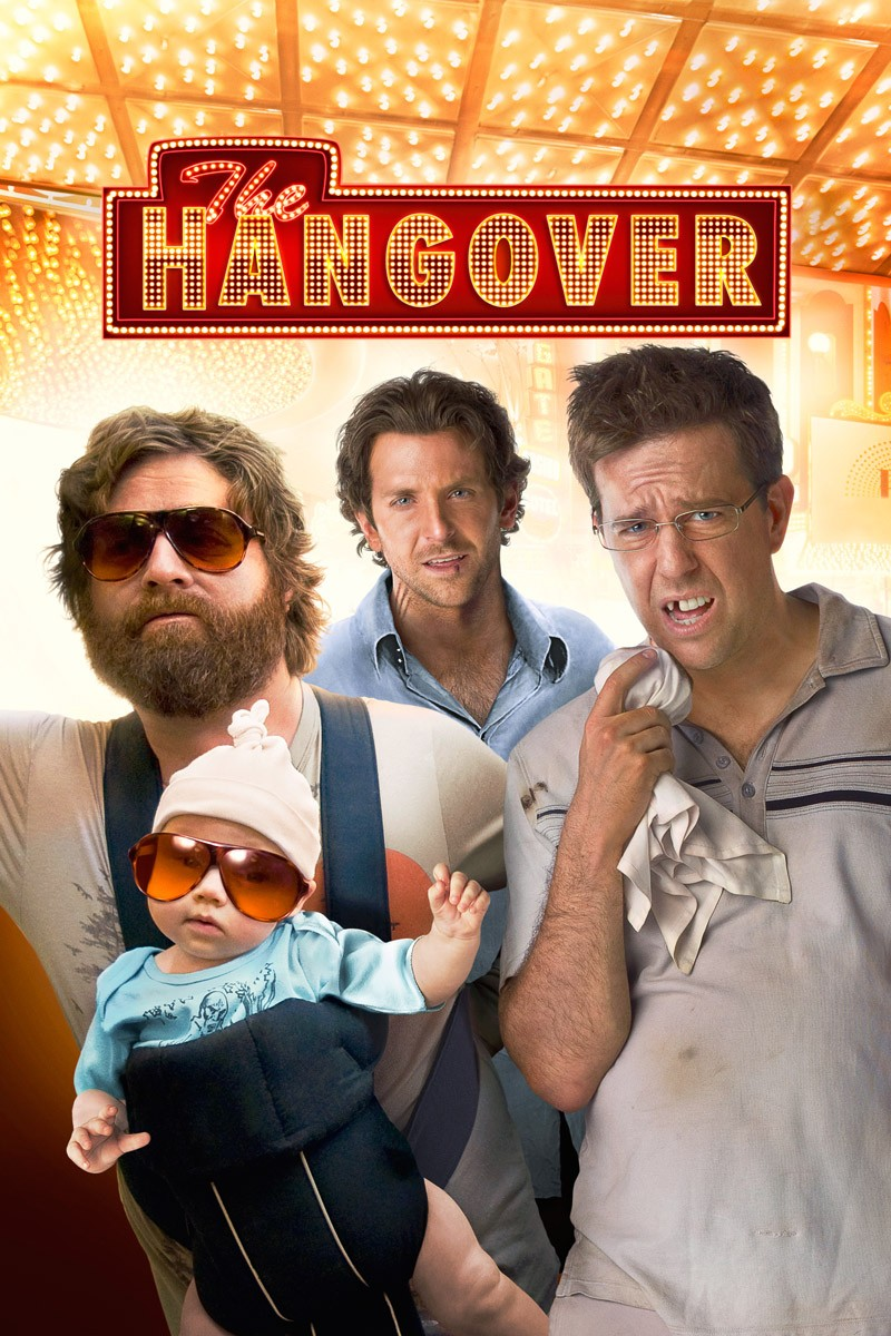 The Hangover  poster is copied by Delhi Belly