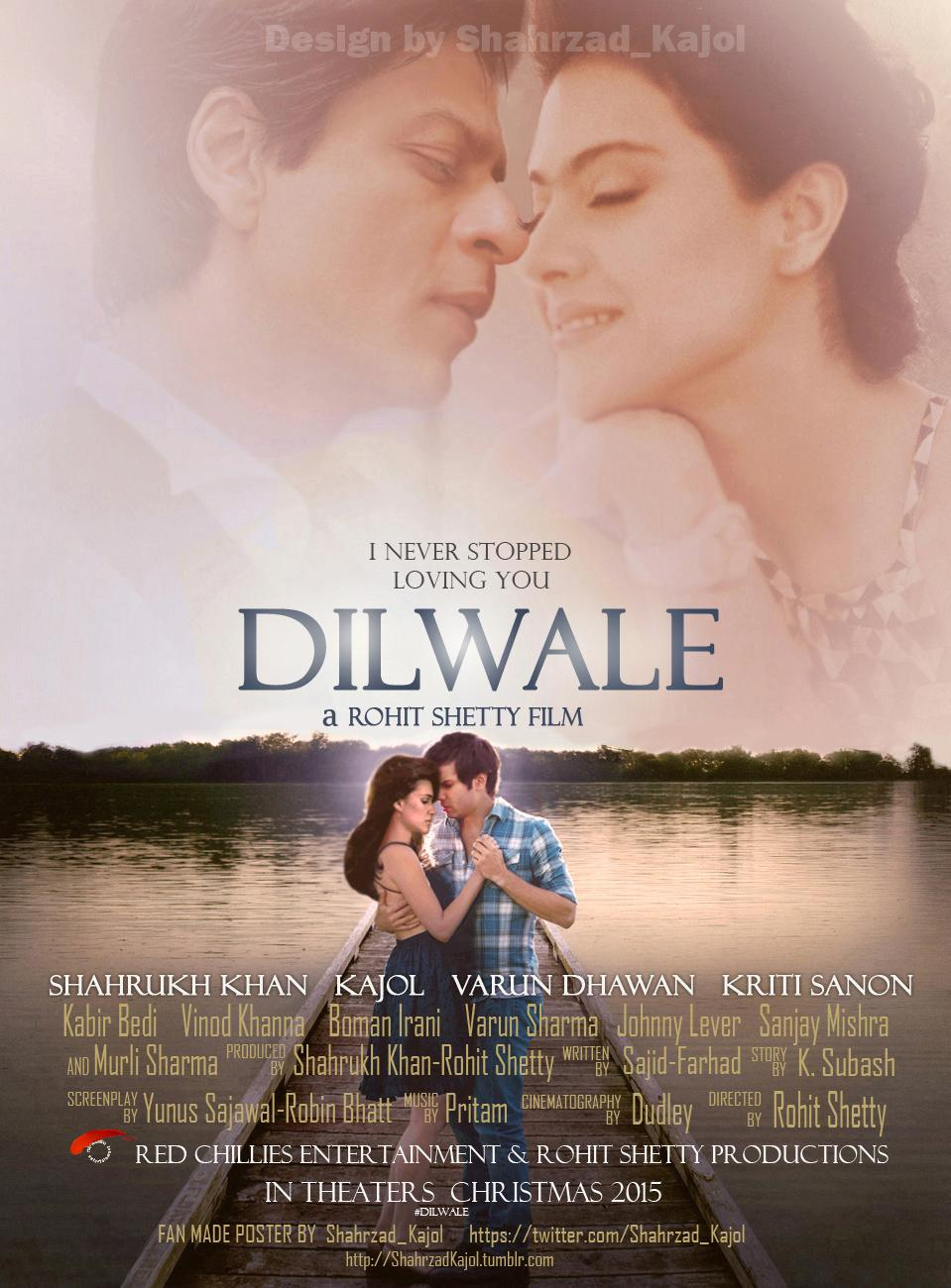Dilwale poster is copied from The Best of me