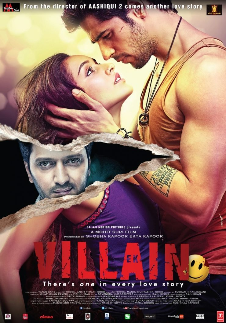 Ek Vilain poster is copied from Step up