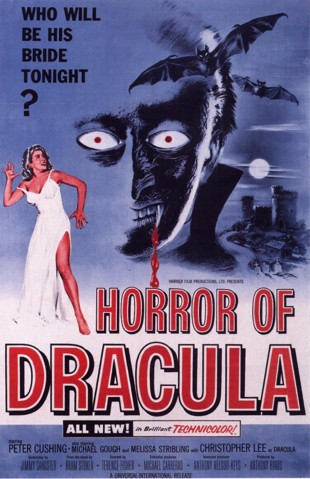 Horror of Dracula  poster is copied by Jaani Dushman