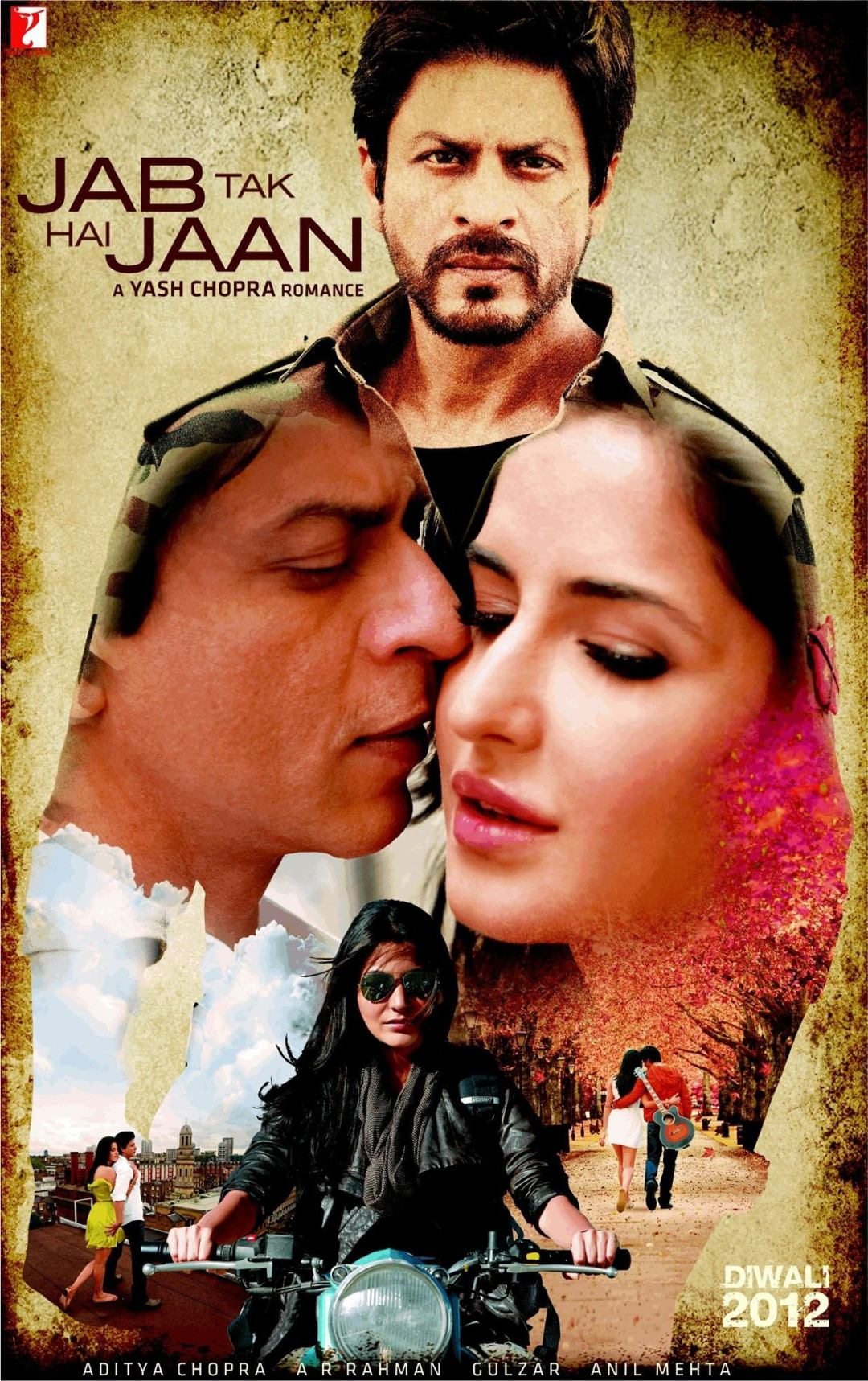 Jab Tak Hai Jaan poster is copied from Total Recall