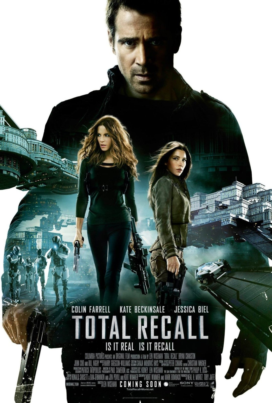Total Recall  poster is copied by Jab Tak Hai Jaan