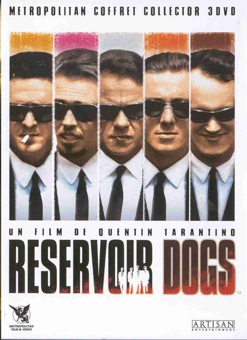 Reservoir Dogs  poster is copied by Kaante