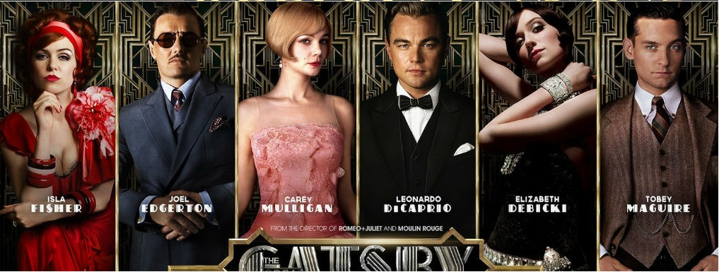 The Great Gatsby  poster is copied by The Xpose
