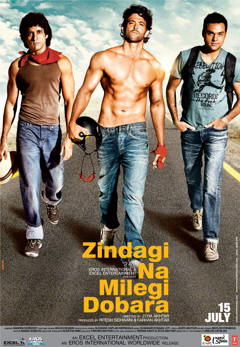 Zindagi na milegi doobara poster is copied from Lords of dogtown