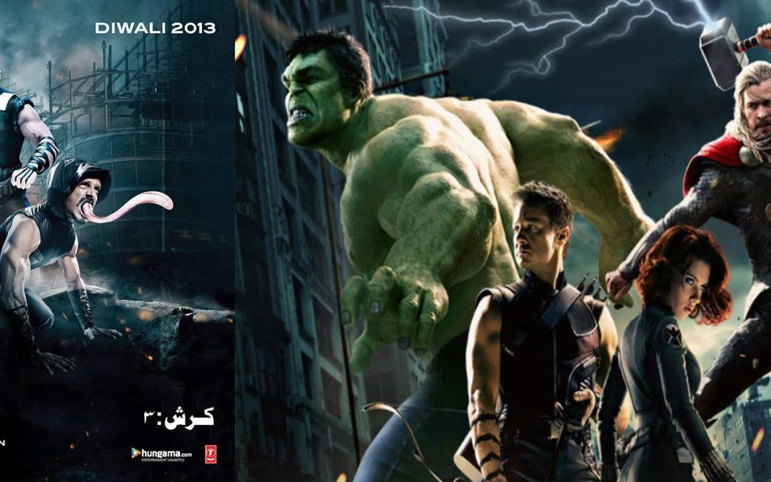 'Krrish 3' poster is copied from 'Avengers'
