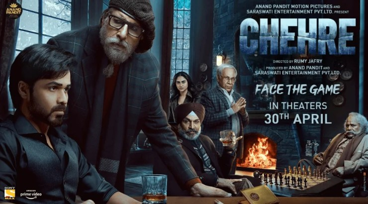 Chehre Movie Details, Star Cast, Release Date, Poster, Story