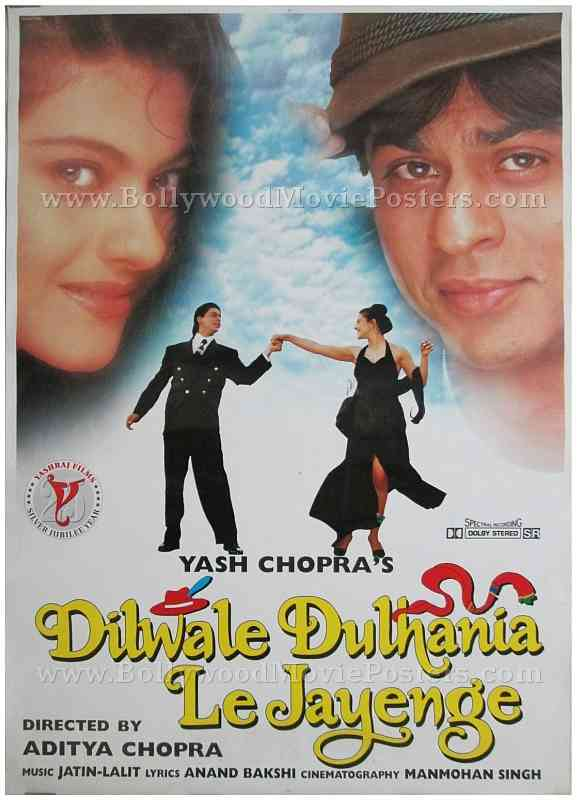 Image result for ddlj poster