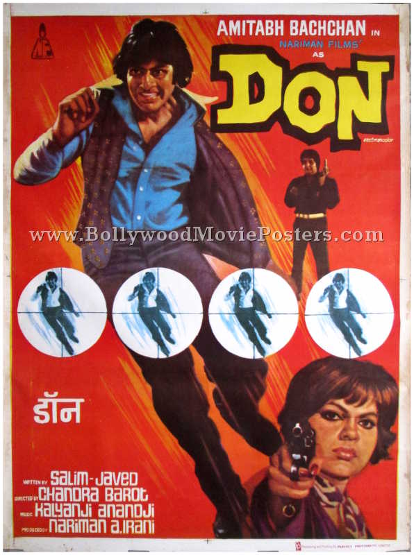 Image result for don poster 1978