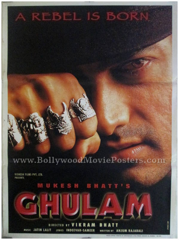 Image result for ghulam poster