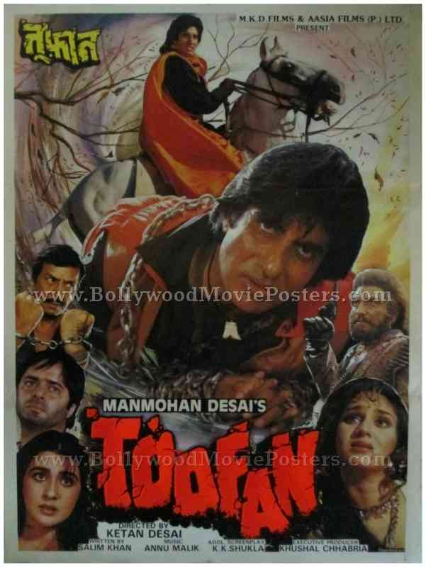 Toofan Bollywood Movie Posters