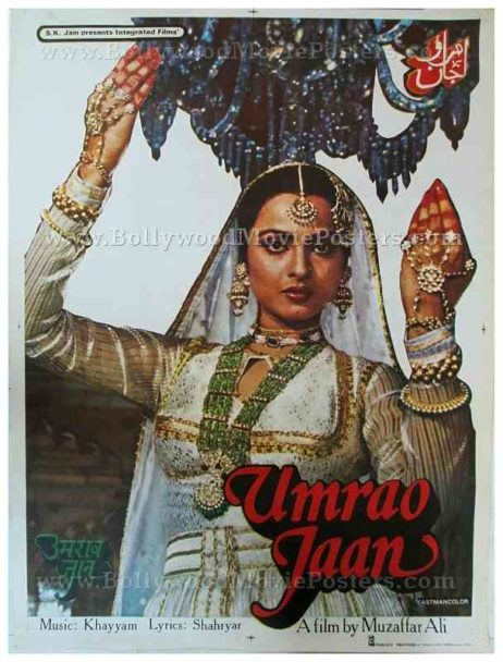 Image result for umrao jaan poster